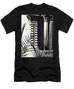 Palms And Columns Men's T-Shirt (Athletic Fit)