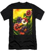Pansies Or Vuela Mis Pensamientos Men's T-Shirt (Athletic Fit)