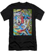 Paper Girl Windy Day Men's T-Shirt (Athletic Fit)