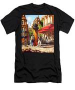 Paris, Street Musicians Men's T-Shirt (Athletic Fit)