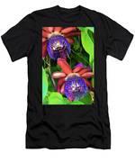 Passion Flower Ver. 12 Men's T-Shirt (Athletic Fit)