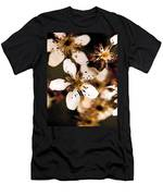 Pear Tree Blossoms Men's T-Shirt (Athletic Fit)
