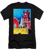 Pena Palace In Portugal Men's T-Shirt (Athletic Fit)