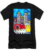 Pena Palace In Sintra Portugal  Men's T-Shirt (Athletic Fit)