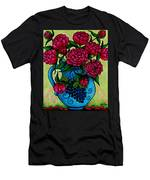 Peony Party Men's T-Shirt (Athletic Fit)
