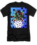 Petals And Dots Men's T-Shirt (Athletic Fit)