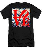 Philly Love V17 Men's T-Shirt (Athletic Fit)