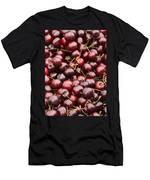 Pile Of Cherries Men's T-Shirt (Athletic Fit)