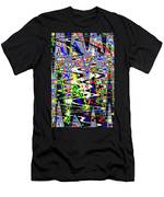Pine Tree Abstract ,3448wt Men's T-Shirt (Athletic Fit)