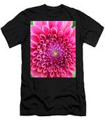 Pink Flower Close Up Men's T-Shirt (Athletic Fit)