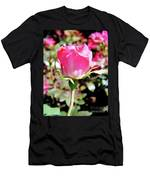 Pink - Rose Bud - Beauty Men's T-Shirt (Athletic Fit)