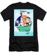 Pirate Of The Carribean Men's T-Shirt (Athletic Fit)