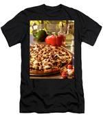 Pizza At Restaurant  Men's T-Shirt (Athletic Fit)