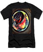 Planet In Orbit Men's T-Shirt (Athletic Fit)