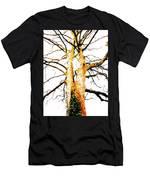 Pointillised Tree Men's T-Shirt (Athletic Fit)