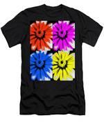 Pop Art Petals Men's T-Shirt (Athletic Fit)