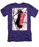 Pop Art Pillar Post Box Men's T-Shirt (Athletic Fit)