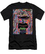 portrait of who   U  Me       or      someone U see  Men's T-Shirt (Athletic Fit)
