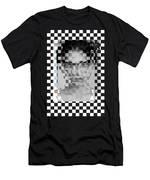 Portrait Visually Unstable Men's T-Shirt (Athletic Fit)