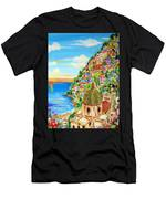 Positano Dreamy Sunset Men's T-Shirt (Athletic Fit)