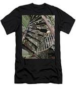 Prison Spiral Staircase Men's T-Shirt (Athletic Fit)