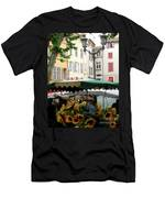 Provence Market Day Men's T-Shirt (Athletic Fit)