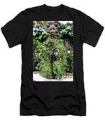 Public Fountain In Palma Majorca Spain Men's T-Shirt (Athletic Fit)
