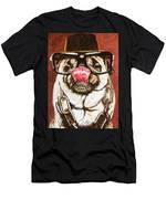 Punk Pug Men's T-Shirt (Athletic Fit)