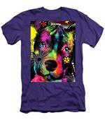 Puppy  Men's T-Shirt (Athletic Fit)