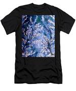 Pussy Willow Abstract Men's T-Shirt (Athletic Fit)