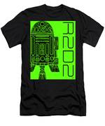 R2d2 - Star Wars Art - Green Men's T-Shirt (Athletic Fit)