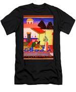 Ragamala Painting Men's T-Shirt (Athletic Fit)