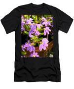 Rain Soaked Fan Flowers Men's T-Shirt (Athletic Fit)