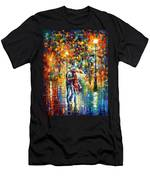 Rainy Evening Men's T-Shirt (Athletic Fit)