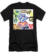 Rat Doodle Men's T-Shirt (Athletic Fit)