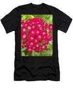 Red Dianthus Men's T-Shirt (Athletic Fit)