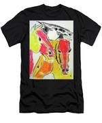 Red Horses Men's T-Shirt (Athletic Fit)
