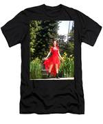 Red Hot - Ameynra Fashion By Sofia Metal Queen. Men's T-Shirt (Athletic Fit)