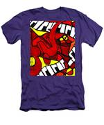 Red Hot Jazz Men's T-Shirt (Athletic Fit)