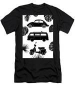 Retro Wheels Men's T-Shirt (Athletic Fit)