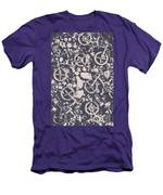 Rocky Mountain Bike Trail Men's T-Shirt (Athletic Fit)