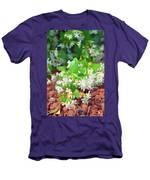 Romantic Skies Jasmine In Bloom Men's T-Shirt (Athletic Fit)