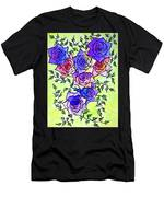 Roses Garden Men's T-Shirt (Athletic Fit)