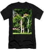 Roses On Trellis Men's T-Shirt (Athletic Fit)