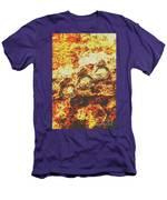 Rusty Shark Scene Men's T-Shirt (Athletic Fit)
