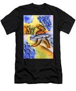 Salmon Fishing Men's T-Shirt (Athletic Fit)