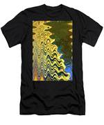 Sand At The Beach Abstract Men's T-Shirt (Athletic Fit)