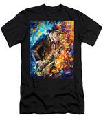 Saxophonist Men's T-Shirt (Athletic Fit)