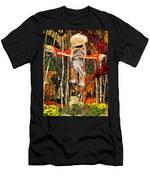Scarecrow In Bellagio Conservtory In Las Vegas-nevada Men's T-Shirt (Athletic Fit)