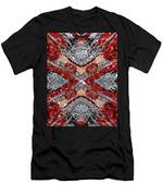Scarlet Entanglement Men's T-Shirt (Athletic Fit)